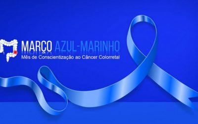 Março Azul Marinho, mês de conscientização sobre o câncer colorretal